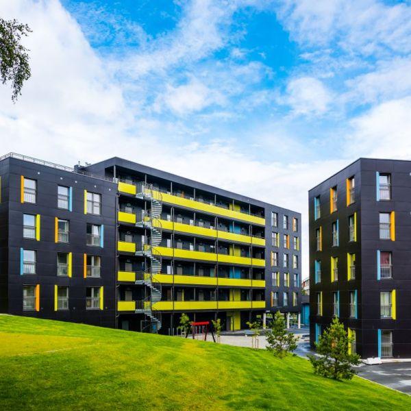 Dormitories Persaunet in Trondheim, Norway