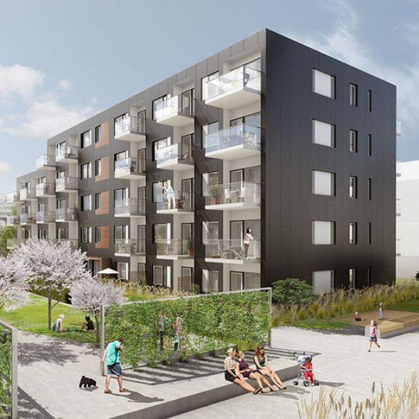Kaldnes Brygge (DocksidebyggB) in Tønsberg, Norway