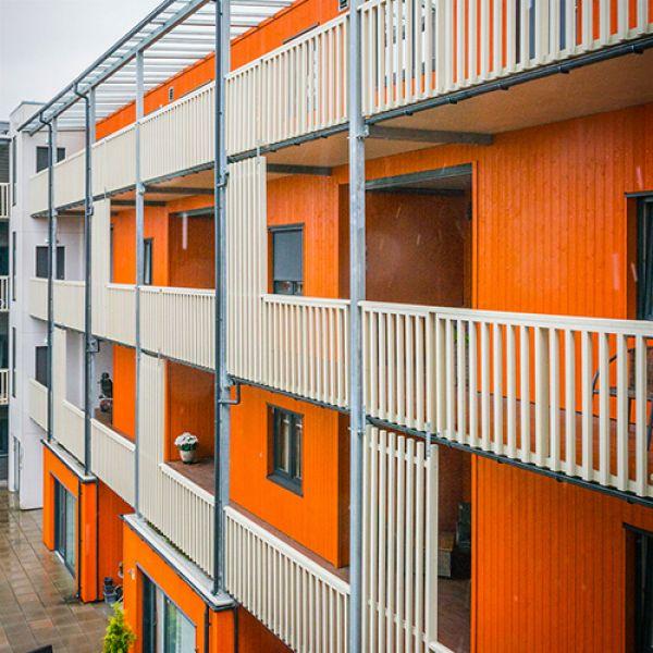 """""""Kvartal 1"""" Residential Estate in Lillestrøm, Norway"""