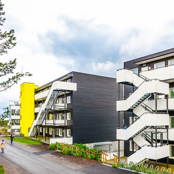 """Bjørnåsen Syd"" Residential Estate in Oslo, Norway"