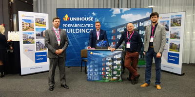 Unihouse stand on prestigious conference for developers Business Arena Göteborg
