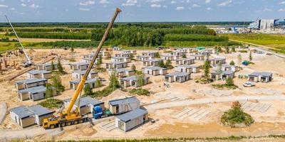Montaż domów wypoczynkowych Park of Poland zakończony
