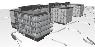 Unihouse kommer att bygga Nardobakken 2 studentbostäder
